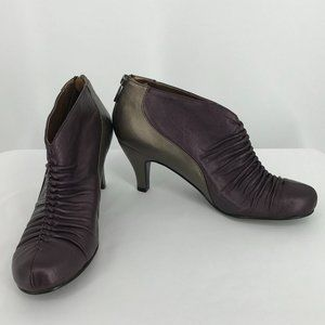 Portia Penn Ruched ankle shoes size 7.5